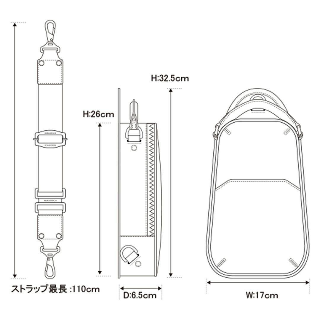 エルゴポック06-OSボディバッグ詳細5