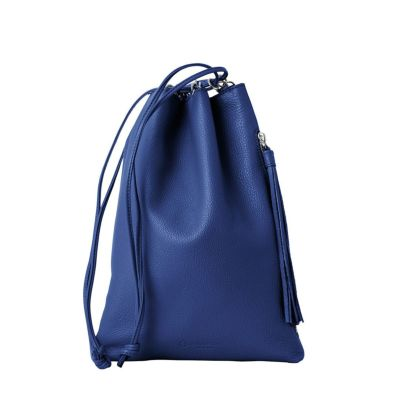 エルゴポックTC-DCレザー巾着(ブルー)
