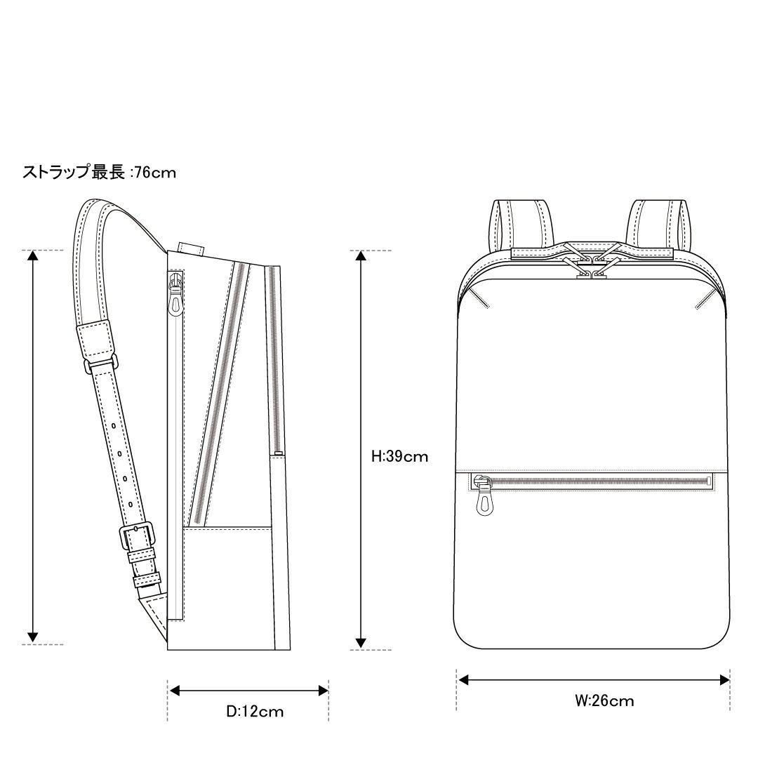 エルゴポックGL-BPRバックパック/リュック詳細8