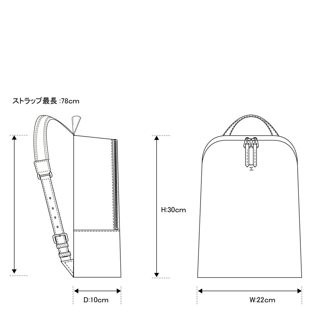 エルゴポックER-BPSミニバックパック/リュック詳細6