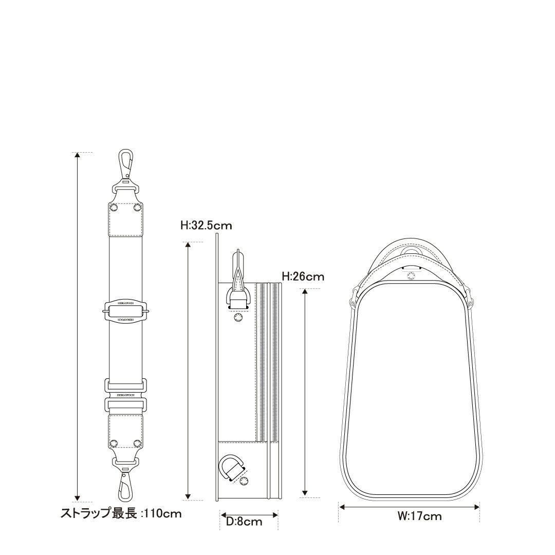 エルゴポックオンライン限定06C-OS-Eワンショルダー/ボディバッグ詳細6